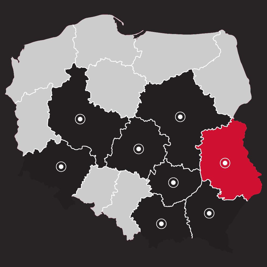Mapa - LP Fotowoltaika Lublin | Flexipower Group