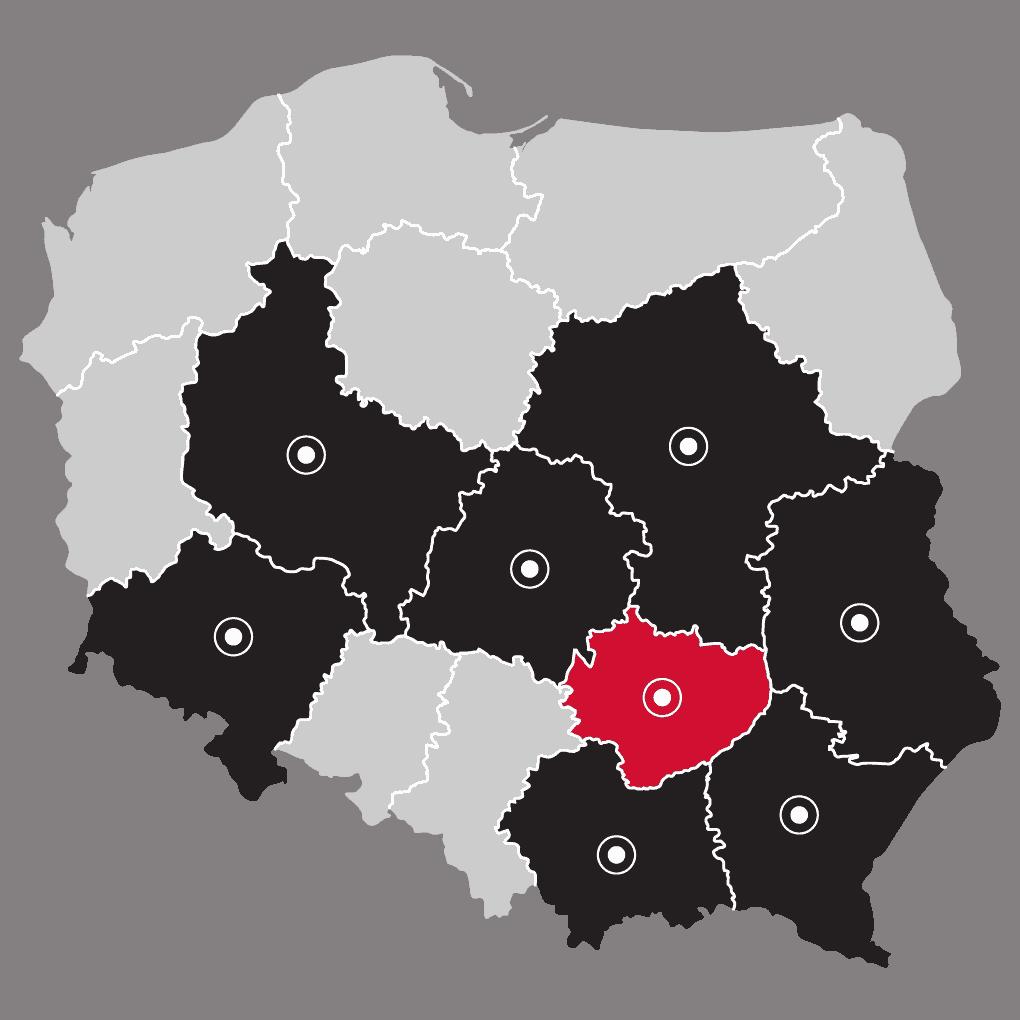 Mapa - LP Pompy ciepła Kielce | Flexipower Group