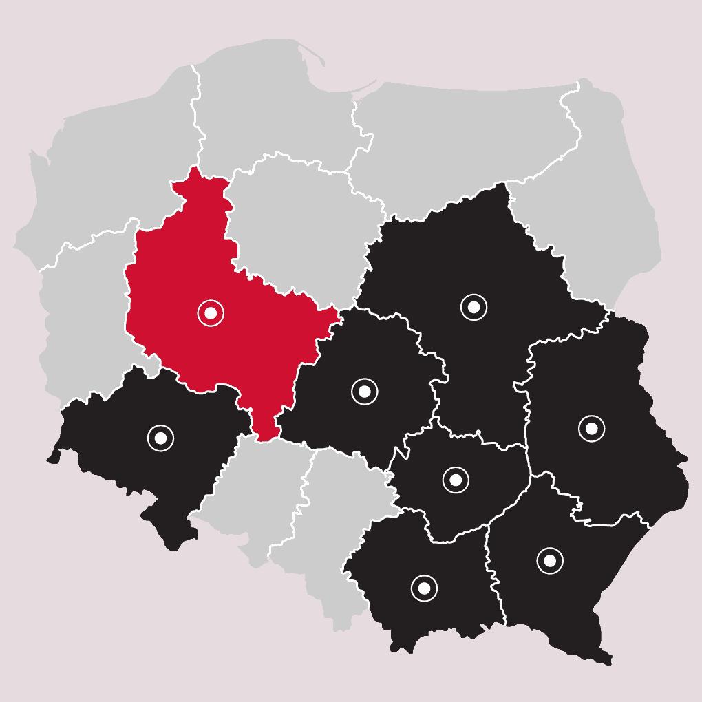 Mapa - LP Pompy ciepła Poznań | Flexipower Group