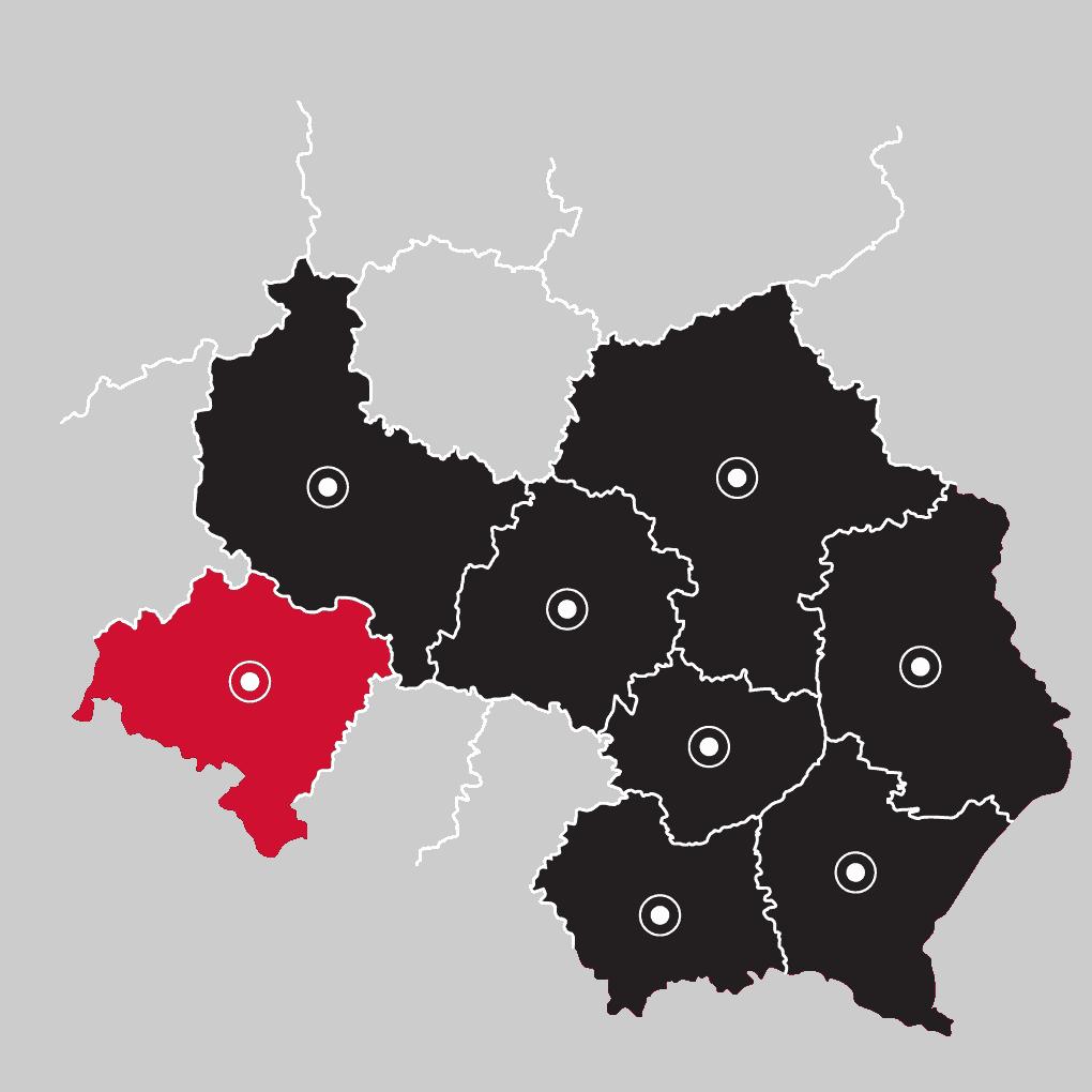 Mapa - LP Pompy ciepła Wrocław | Flexipower Group