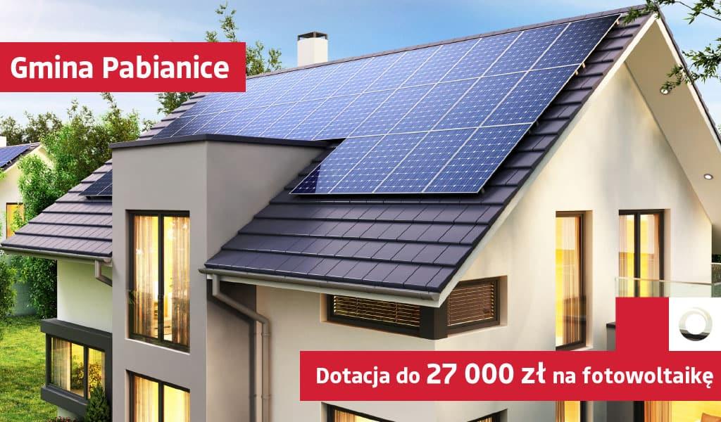 Dotacja na fotowoltaikę nawet do 27 000 zł dla gminy Pabianic